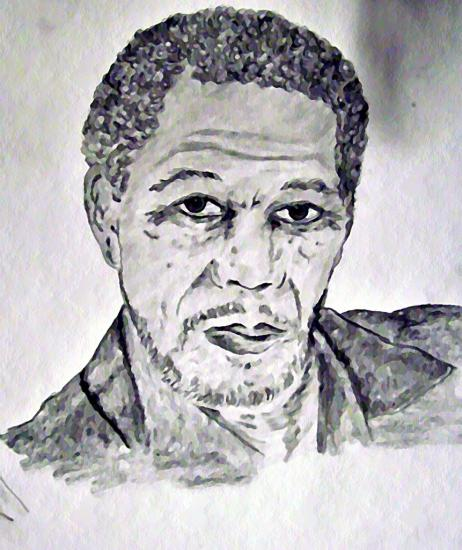 Morgan Freeman por sky2065
